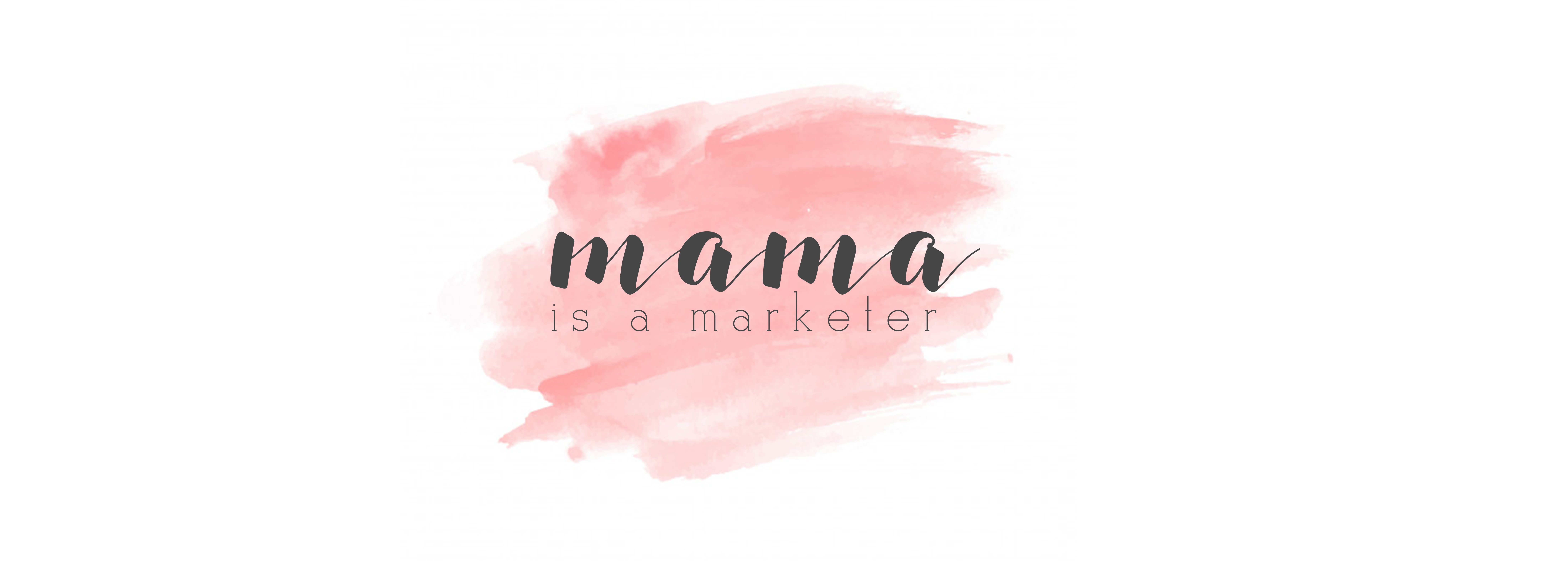 mama is a marketer logo