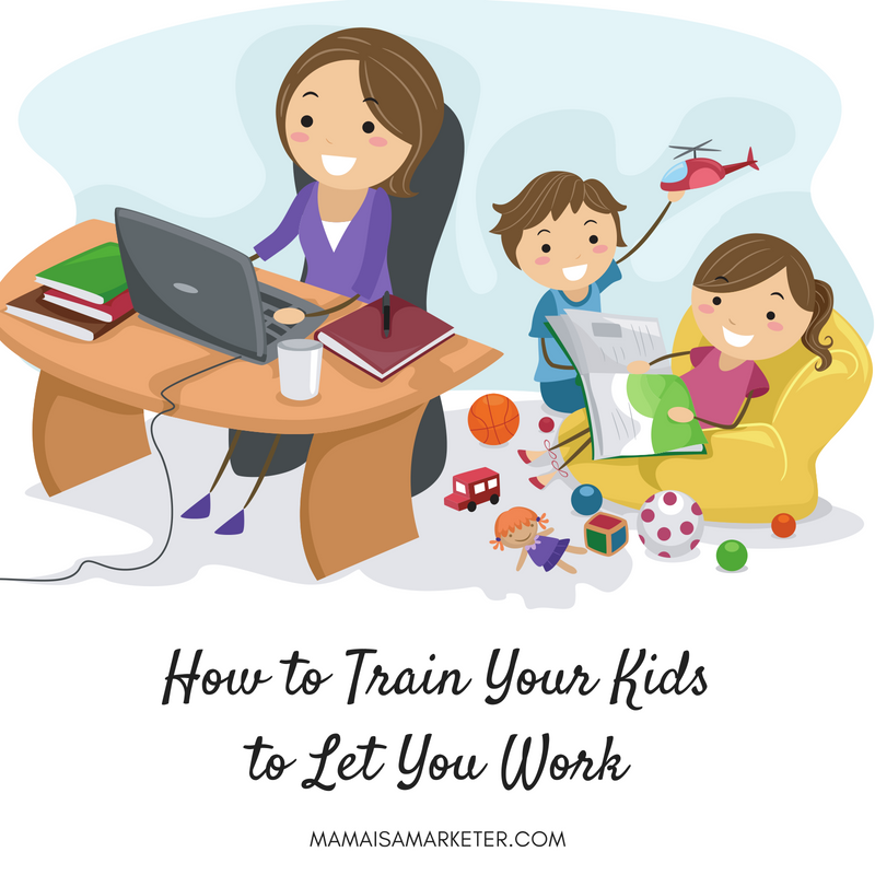 How to Train Your Kids to Let You Work